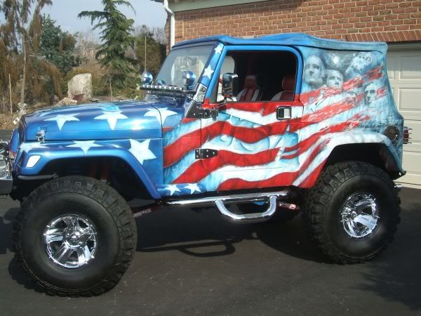 Jeep Cars Pictures >> Best Airbrush USA Flag on Full Body Jeep Car | Airbrush art | Pinterest | Jeep cars, Usa flag ...