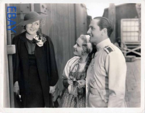 Mary Pickford visits Anna Sten Fredric March VINTAGE Photo We Live Again