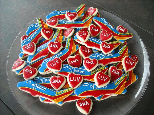 Southwest Airline Cookies-- if you know me, you know why I love these!