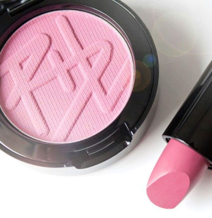 Baby pink Blush and Lipstick by Beauty is life