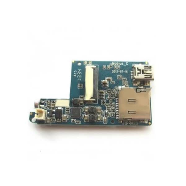 Replacement Printed Circuit Board For The Mobius Action Sport Camera   Description: Item name:Printed Circuit Board(PCB) The Printed Circuit Board issuitablefor both the standard lens and the wide-angle lens. Package Included: 1 x Printed Circuit Board