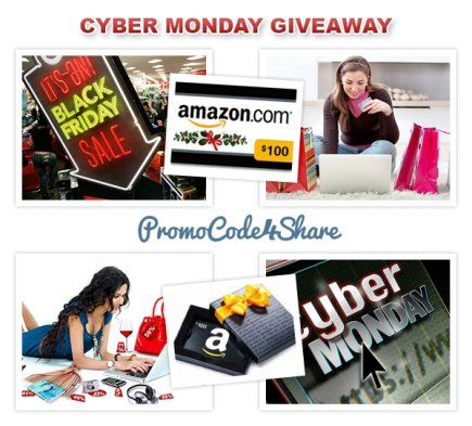 Amazon cyber monday giveaway