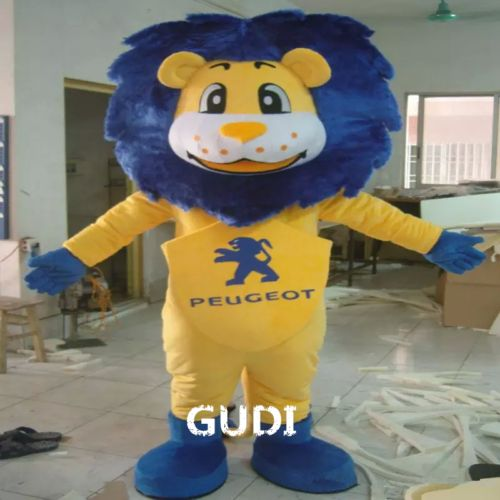 High quality Lion Mascot Cartoon Character Costume The Lion King for adults