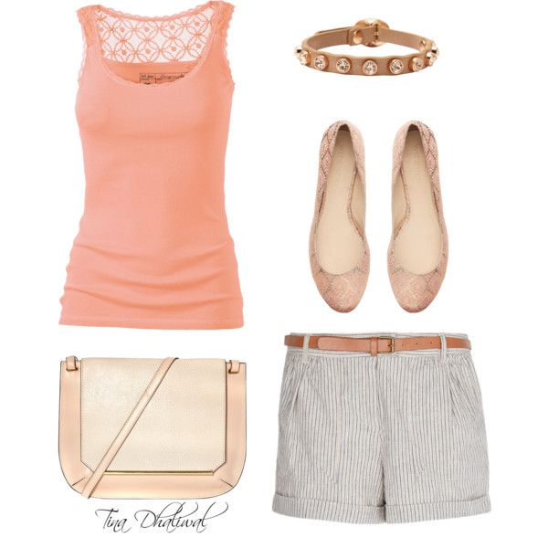 dressy casual summer outfit by tinadhaliwal on Polyvore