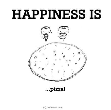 http://lastlemon.com/happiness/ha0039/ HAPPINESS IS: Pizza