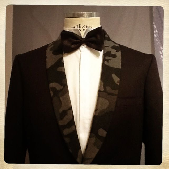 Camouflage Evening Jacket - Tonello SS2014 Man Collection