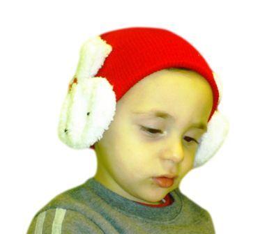 #σκουφάκι #χριστουγεννιάτικο με #αυτάκια