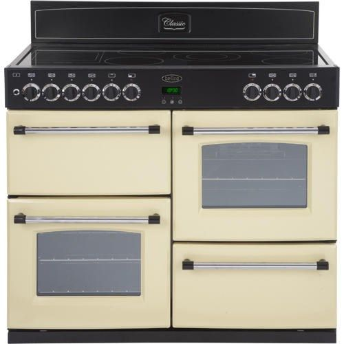 Belling Classic 100E 100cm Electric Range Cooker - Cream