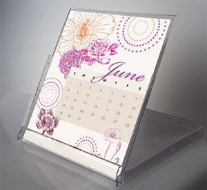 CD Jewel Case Calendar