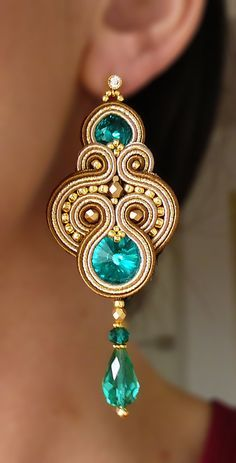 Earring tutorial, Diy jewelry and Look at on Pinterest