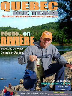 Québec Ice Team: Pêche en rivière. Beaucoup de temps, d'essaies et ...