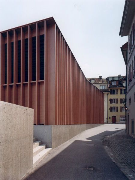 Market Hall in Aarau, Switzerland by Miller & Maranta, 2002