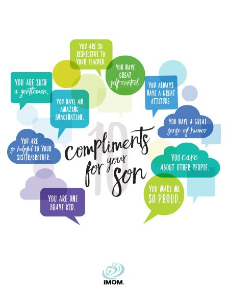 Complimenting your son on his leadership ability can go a long way in building his confidence and his belief in himself