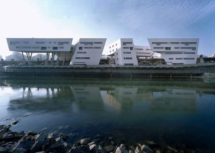 Spittelau Viaducts Housing Project - Architecture - Zaha Hadid Architects