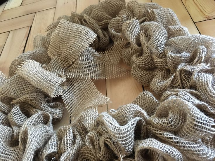 Burlap wreath https://www.etsy.com/uk/shop/Roseybuddles?ref=search_shop_redirect