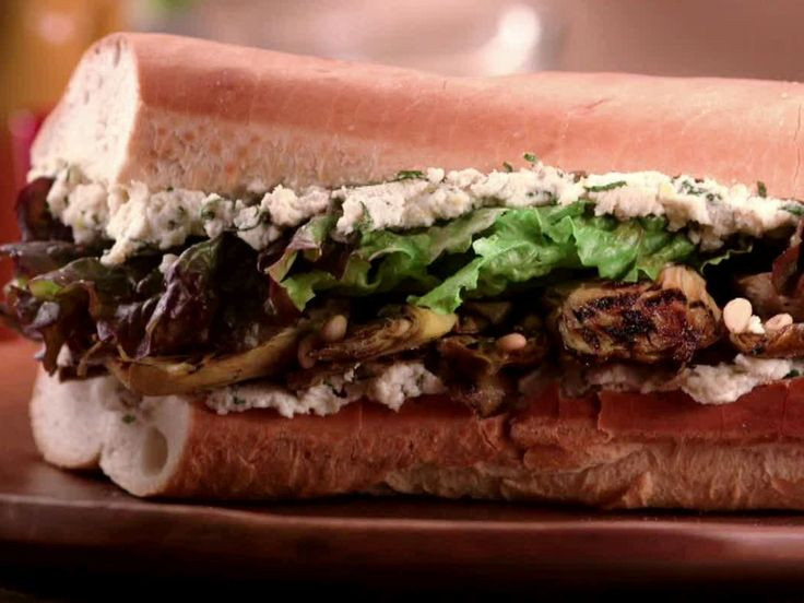 Get this all-star, easy-to-follow Grilled Artichoke Sub recipe from Jeff Mauro