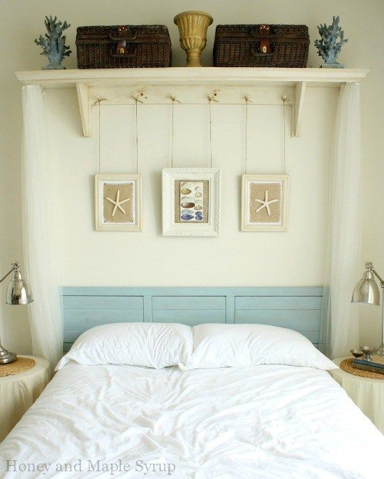 Best Shelf Above Bed Ideas On Pinterest Navy Bed Gray