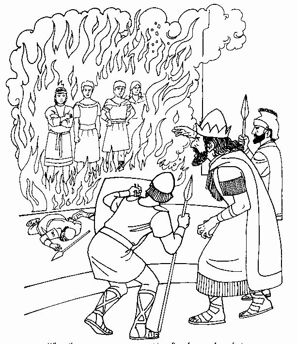 - Fiery Furnace Coloring Page Fresh The Fiery Furnace Coloring Page  Sundayschoolist In 2020 Rose Coloring Pages, Coloring Pages, Fiery Furnace
