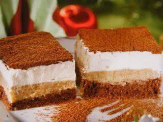 Sütemény receptek: Gesztenyekocka