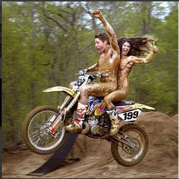 toppless dirt bike girls