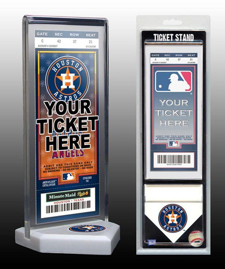 That's My Ticket Houston Astros Ticket Stand