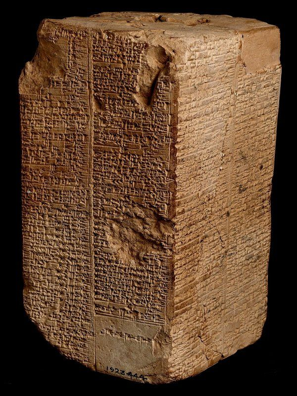 Image Of The Day: Sumerian King List - Kingships Of The First Anunnaki Leaders Before The Deluge