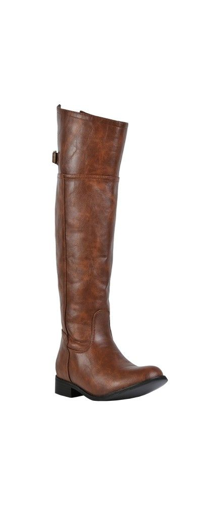 Lily Boutique Kimberly Riding Boot in Tan, $60 Tan Riding Boots, Cognac Riding Boots, Cute Fall Boots, Fall Riding Boots www.lilyboutique.com