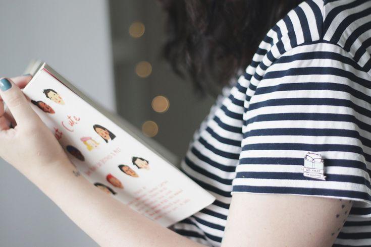 https://melinasouza.com/2018/01/31/3-things-31/ #melinasouza #serendipity #listras #stripes #book #livros #pin