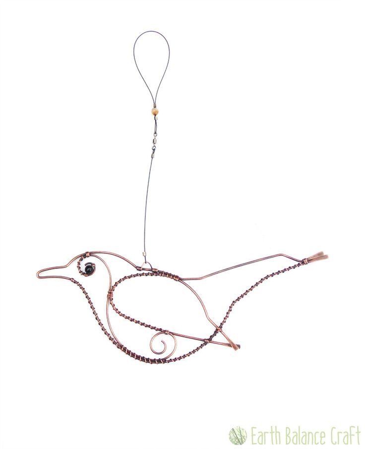Wire Bird Wirewrap T Bird Wire Art And Wire Crafts