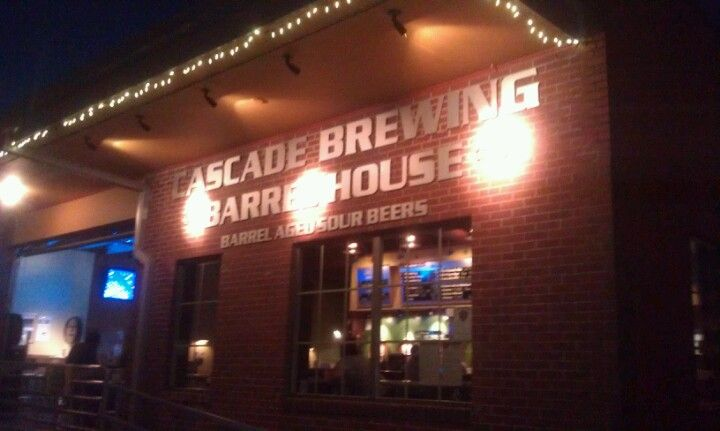 Cascade Brewing Barrel House in Portland, OR