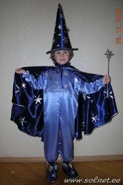 Новогодний костюм звездочета или волшебника сшить самим
