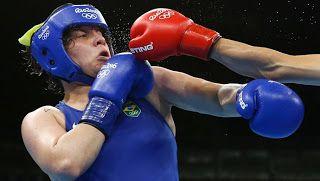 Blog Esportivo do Suíço:  Andreia Bandeira perde para chinesa e fica sem pódio no boxe