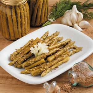 Dilly Pickled Asparagus--canning recipe: Asparagus Recipe