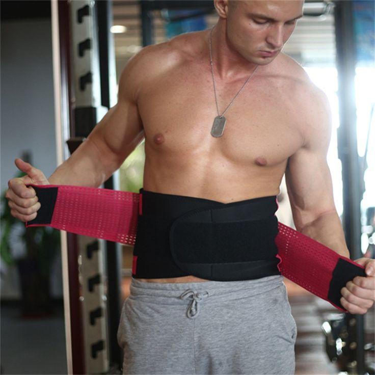 Xtreme Lumbar Lower Back Support Belt Brace Pain Relief Weight Lifting Waist Support Power Strong Waist Belt Free Shipping #Affiliate