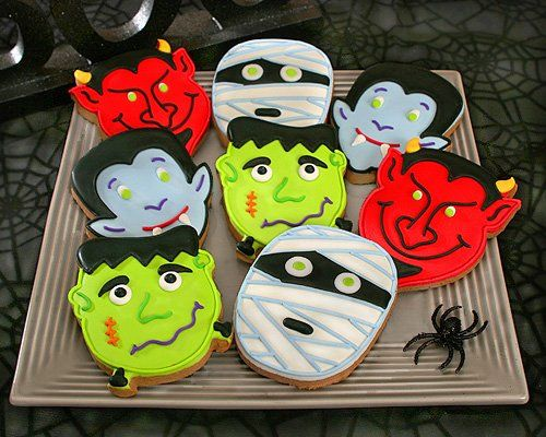 decorating cookies ideas google search - Halloween Cookies Decorating Ideas