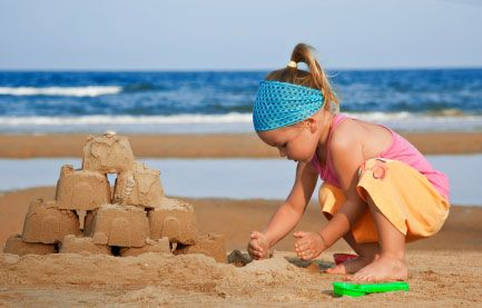 Tips on keeping your children's hair healthy during summer swim months. How to avoid chemical damage and tangles.