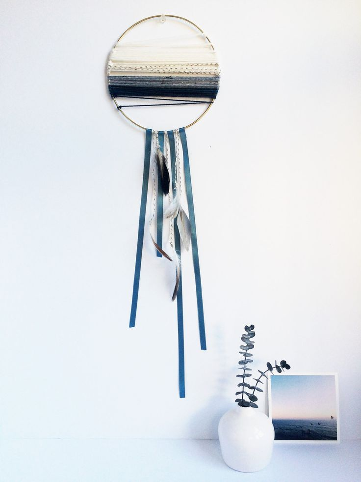 Modern minimalist dreamcatcher large dream catcher for Minimalist gifts for housewarming