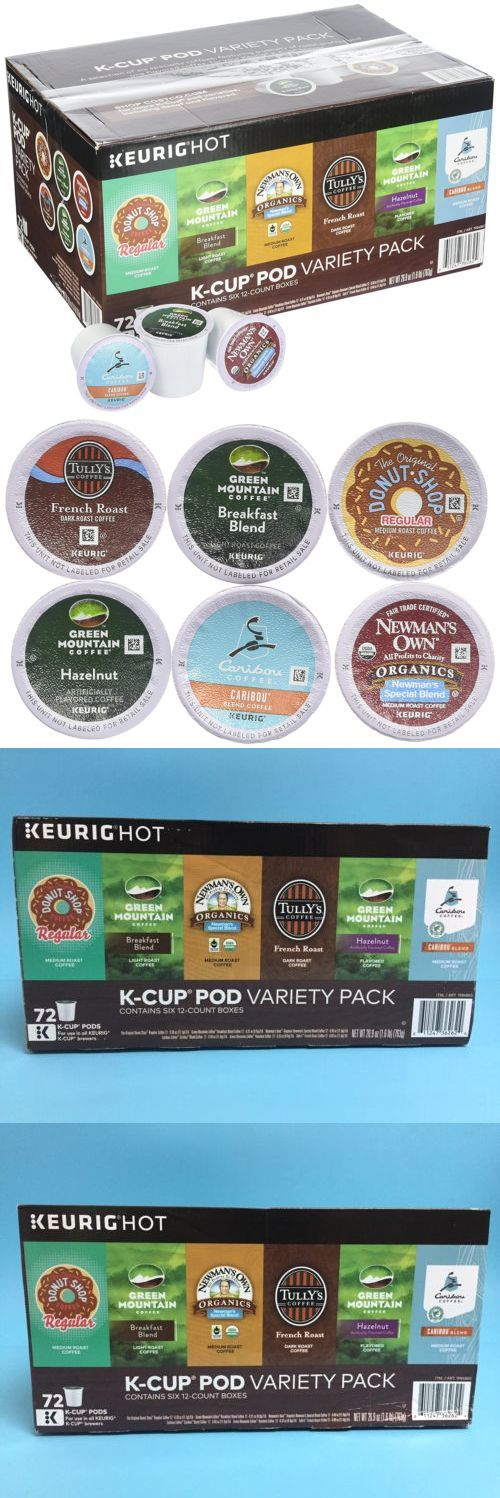 Coffee Pods and K-Cups 79630: Green Mountain Coffee Variety Pack 72 K-Cup Pods -> BUY IT NOW ONLY: $35.59 on eBay!