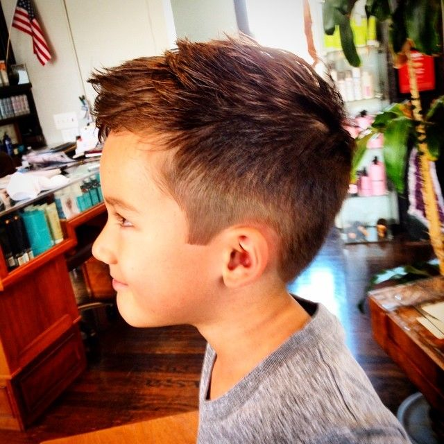 Boys hair cut Bray's