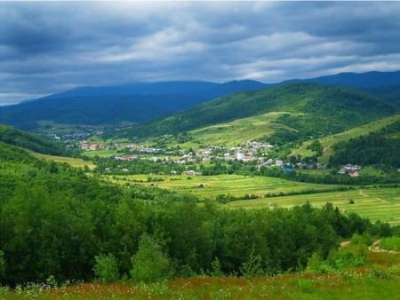 Ukraine - The Transcarpathia region of southwest Ukraine