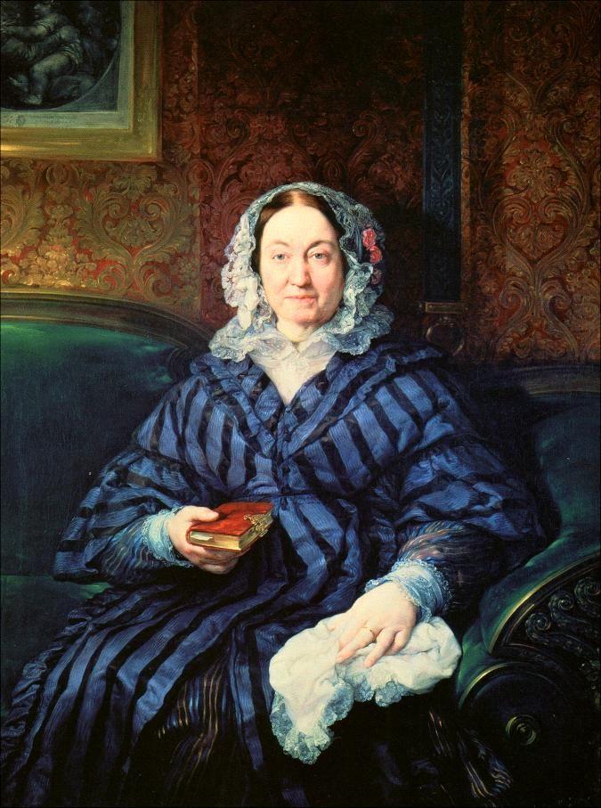 María Francisca de la Gándara, condesa viuda de Calderón.