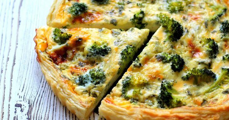 Cooking with Šůša : Quiche s brokolicí a modrým sýrem