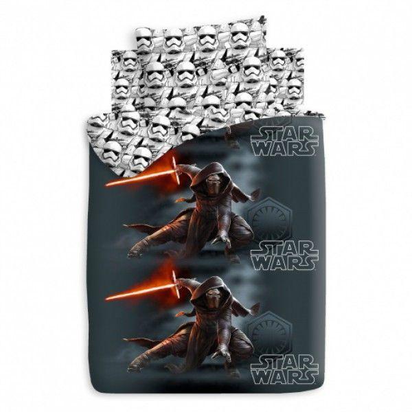 Детское постельное белье Star Wars Neon Кайло Рен и Штурмовики 1,5 сп арт. 325903