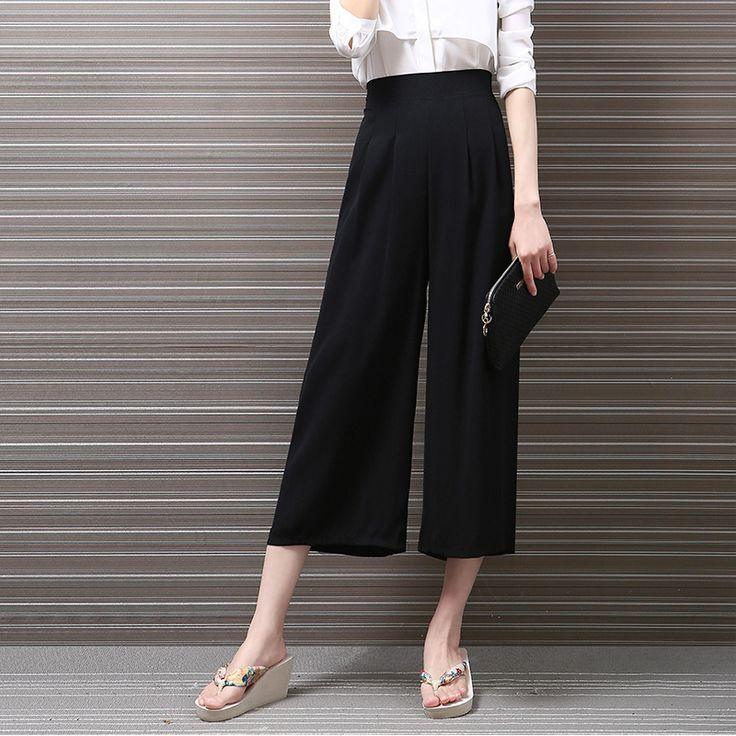25 best ideas about pantalons en lin pour femmes sur. Black Bedroom Furniture Sets. Home Design Ideas