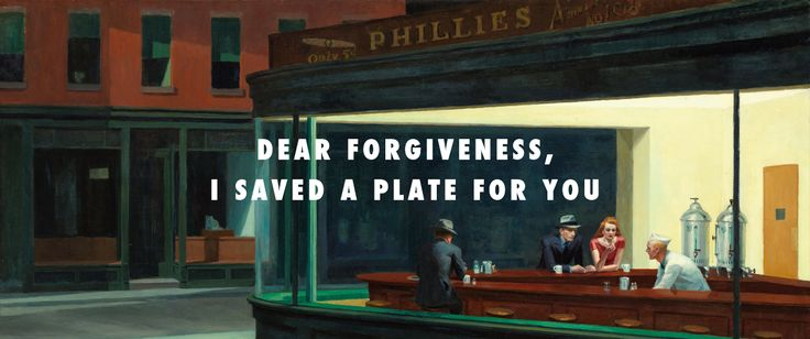 Edward Hopper,Nighthawks(1942) / Richard Siken,Litany in Which Certain Things Are Crossed Out(2005)