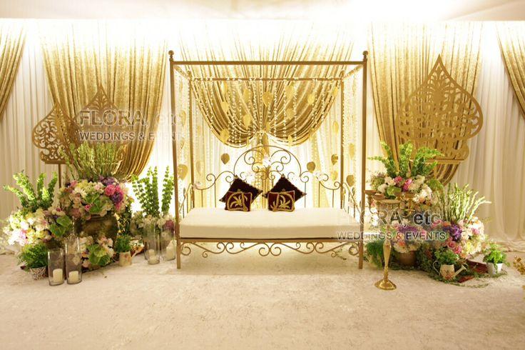 Malay traditional wedding deco