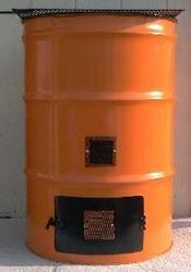 burn barrels -less junk to take out