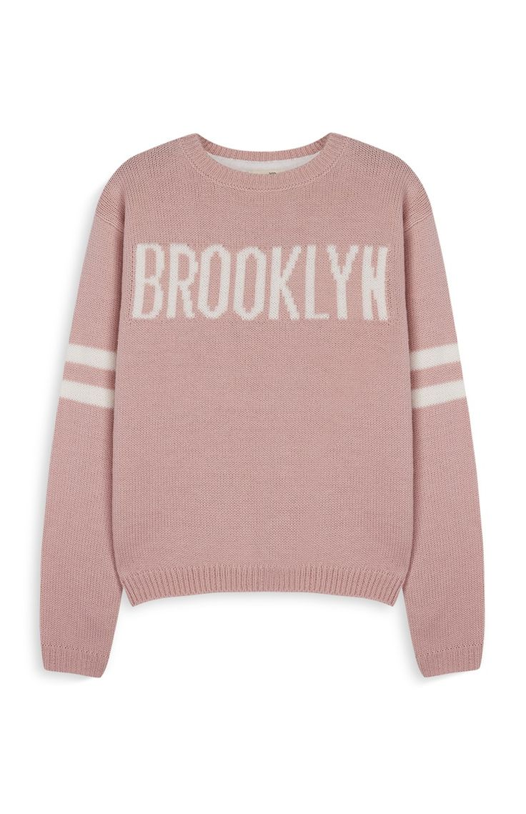 Primark - Older Girl Pink Cropped Sweater
