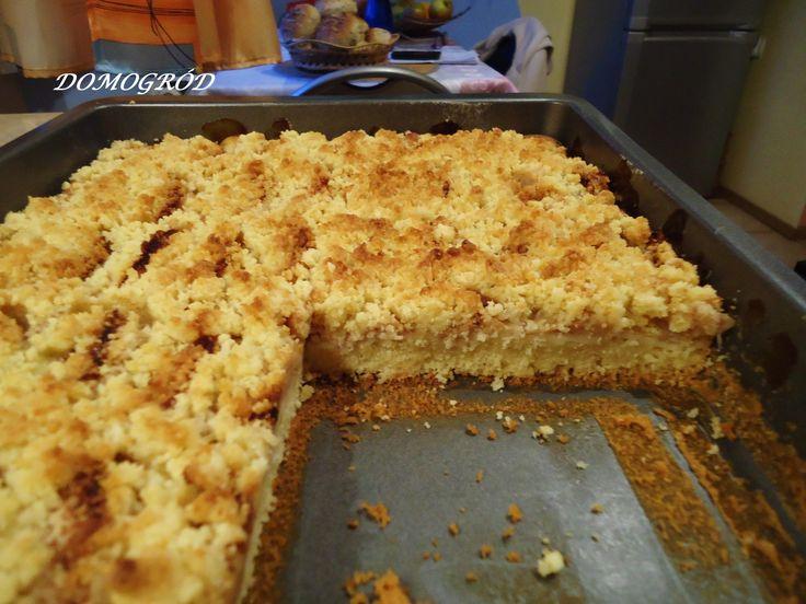 Wyborne ciasto z jabłkami i kruszonką
