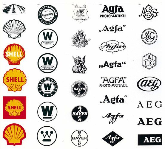 the world s most famous logos organized by visual theme
